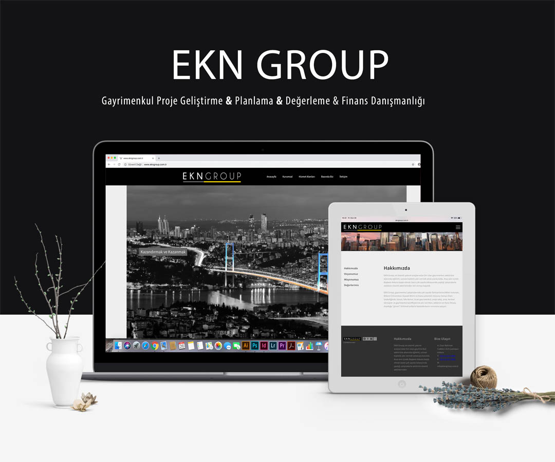 EKN Group Websitesi